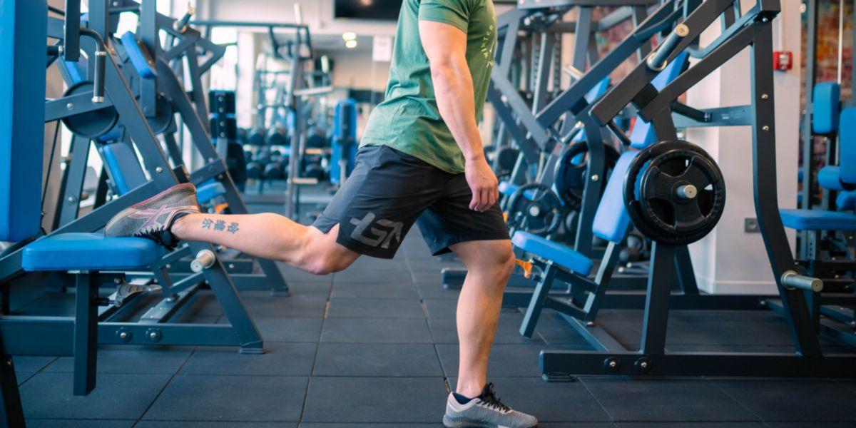 Sentadilla búlgara para ganar músculo