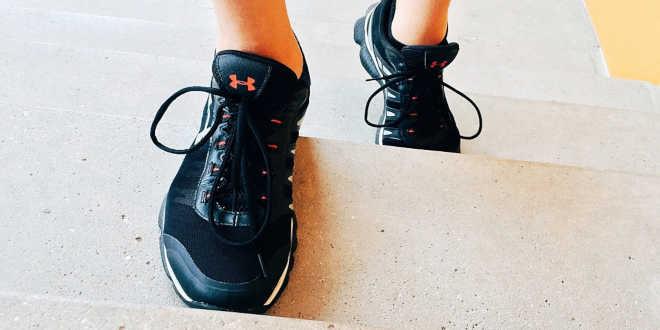 Subir escaleras ejercicios aeróbicos