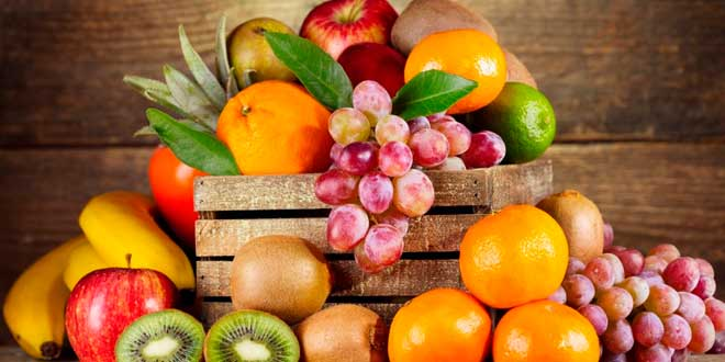 Beneficios de las frutas para un vientre plano