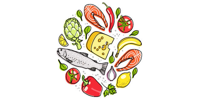 Los efectos del ejercicio usando los alimentos como energía