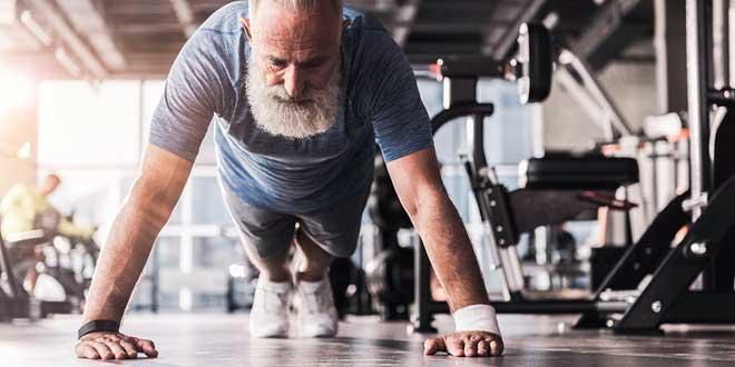 Entrenamiento de fuerza disminuye la sarcopenia