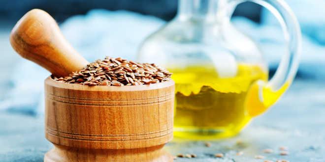 Semillas y aceite de lino