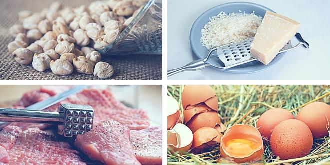 Alimentos fuente lisina