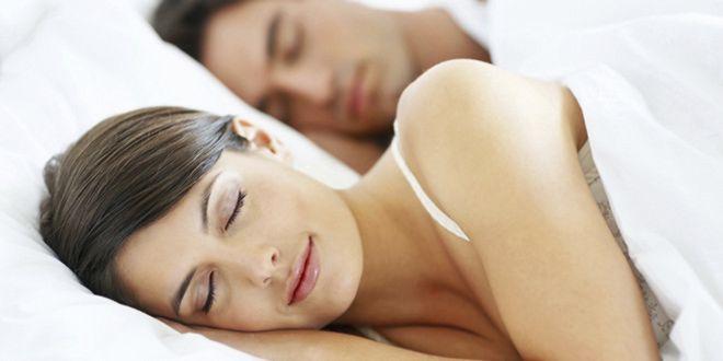 Dormir con pareja