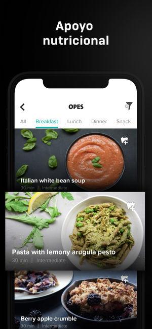 App de apoyo nutricional