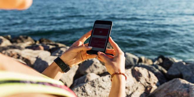App para móvil y deporte