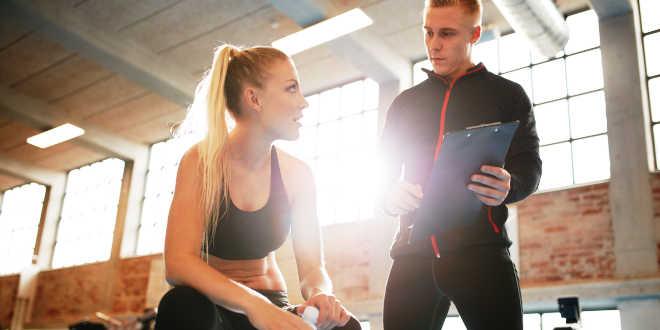 Entrenamiento en Gym