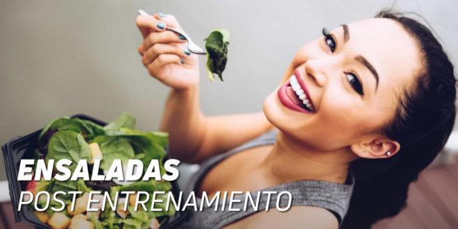 Ensaladas Post Entrenamiento