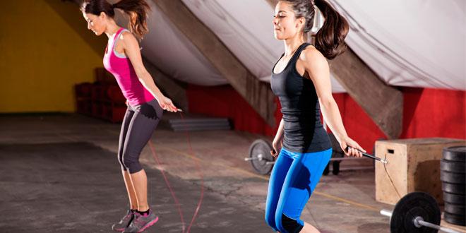 Los beneficios de entrenar con una comba