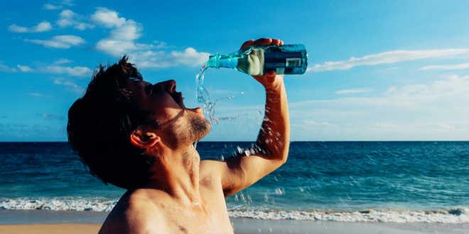 Hidratarse sin sed