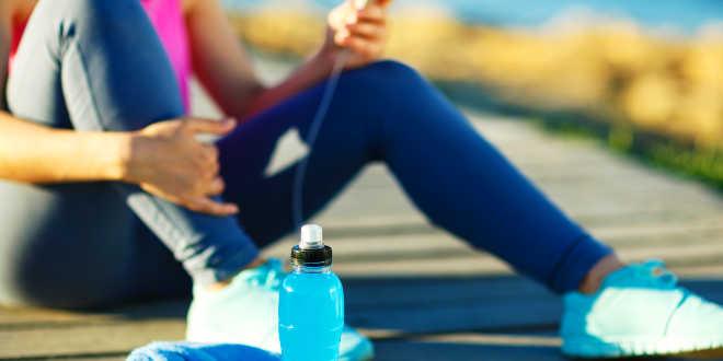 Recuperación electrolitos en el deporte