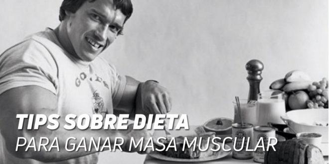 Tips sobre Dieta para Ganar Masa Muscular