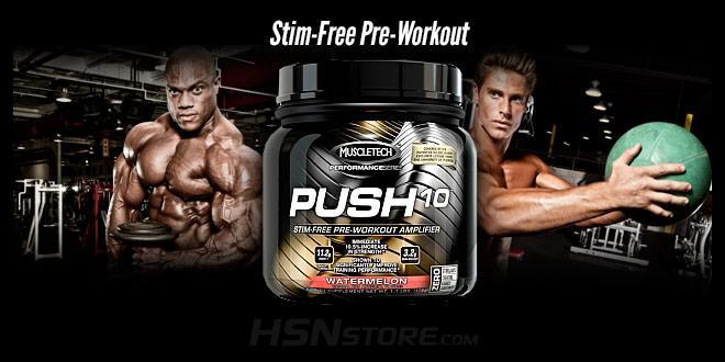 New Push 10 Muscletech
