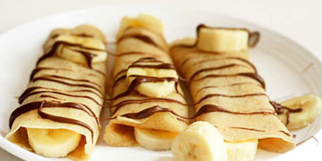 Crêpe à la banane