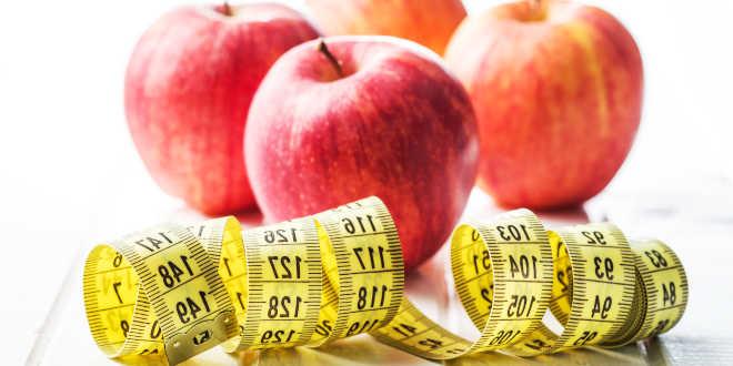 Manzana aliada para perder peso