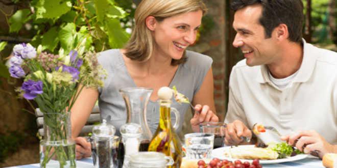 Comer fuera y sano