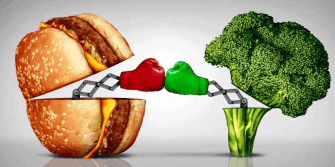 Dieta procesada vs depurativa