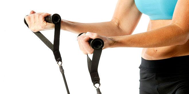 Bandas elásticas, la manera más práctica de tonificar los músculos