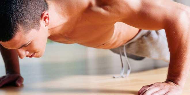 Ejercicios alternativos: 3 variantes de flexiones