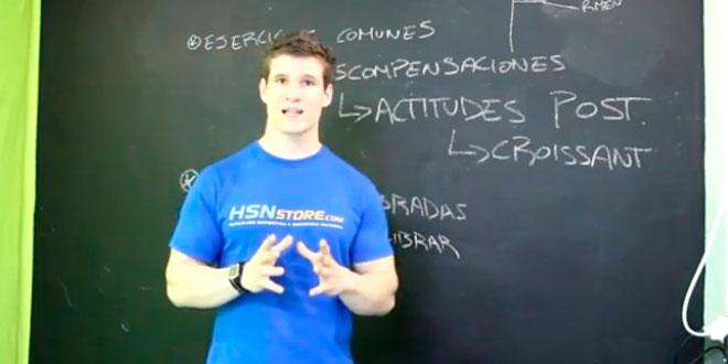 Descompensaciones musculares, el «Croissant» postural