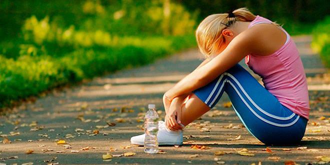 El exceso de ejercicio provoca cansancio en el cerebro