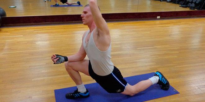 ejercicios para estirar el psoas