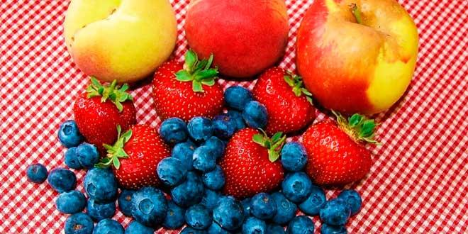 Fruta en la cena