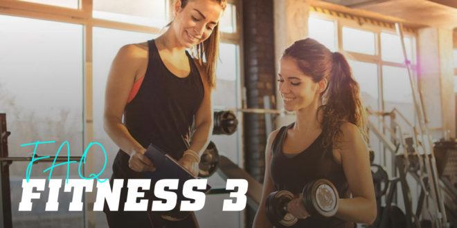FAQ del Fitness. Parte 3