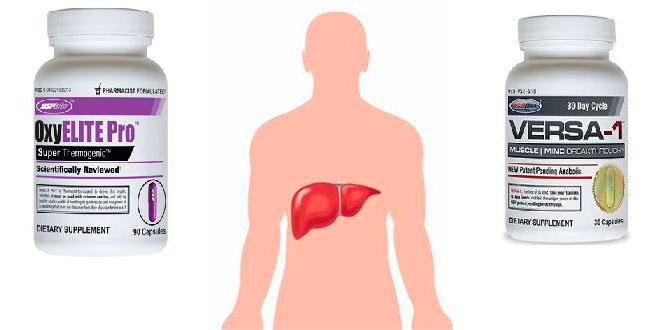 ¡OxyElite Pro relacionado con hepatitis aguda! (y VERSA-1 con posible riesgo)