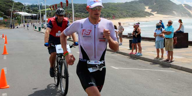 Running phase triathlon