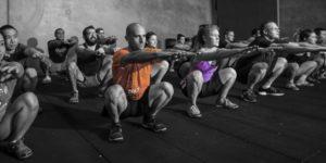 CrossFit, movientos con el propio peso corporal