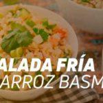 receta ensalada fria con arroz basmati