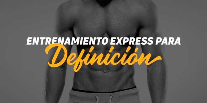 Entrenamiento express de definición (I)