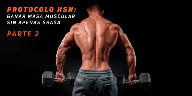 Protocolo HSN: Ganar Músculo Sin Apenas Grasa. Parte 2