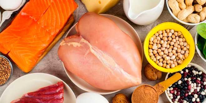 Proteínas en los alimentos