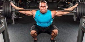 Carga de la barra musculatura