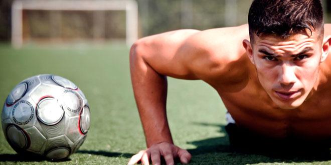 Ejercicios de fuerza para fútbol