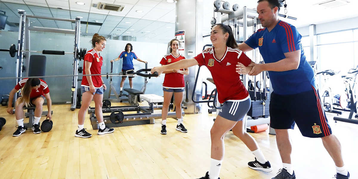 Recomendaciones entrenar fuerza en fútbol