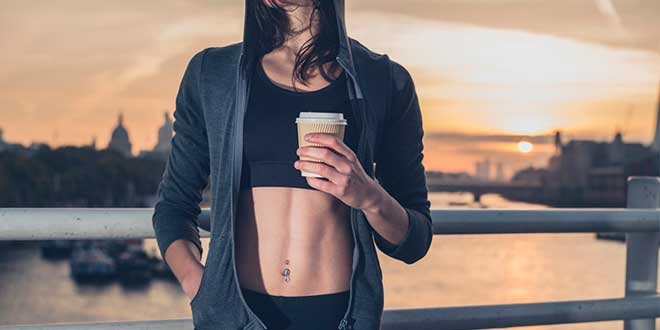 Cafeína mejora rendimiento y perdida de grasa