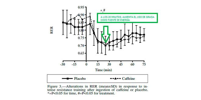 uso de la grasa en el ejercicio