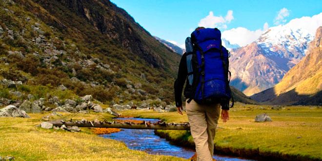 Perder peso caminando por la montaña