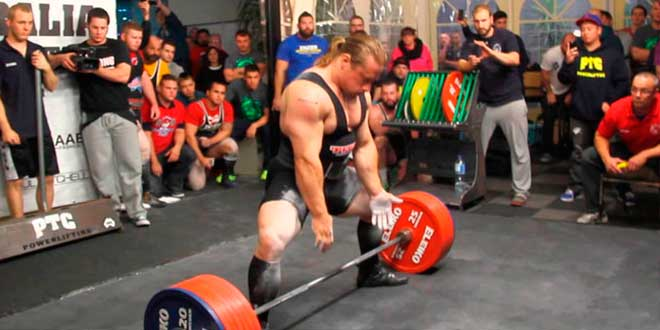 Powerlifting: composición corporal