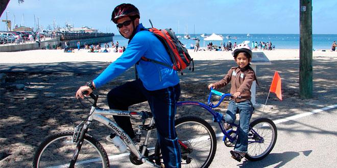 padre-e-hijo-bicicleta
