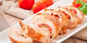 pechuga de pollo mediterránea