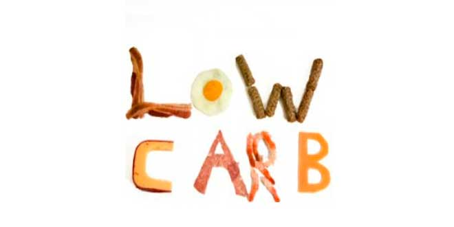 Dieta bajas en carbohidratos o low carb