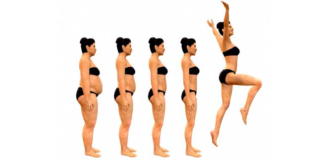 dieta de pérdida de peso gradual