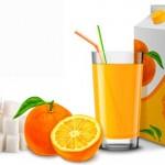 Contenido de azúcar en zumos comerciales