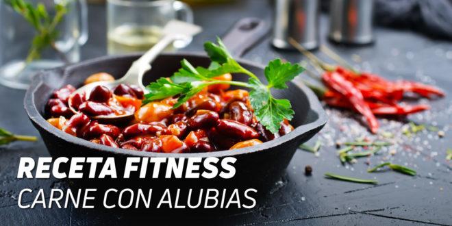 Receta Carne con Alubias Fitness
