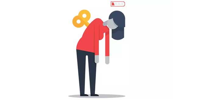 Cansancio debido al Síndrome de Fatiga Crónica
