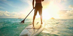 Navegar en paddle surf